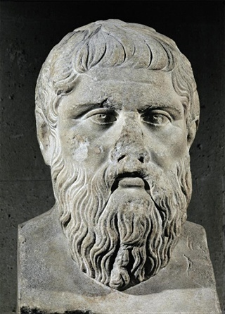 Portrait of Plato. Second Century BCE.