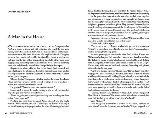 Man in the House by Meischen