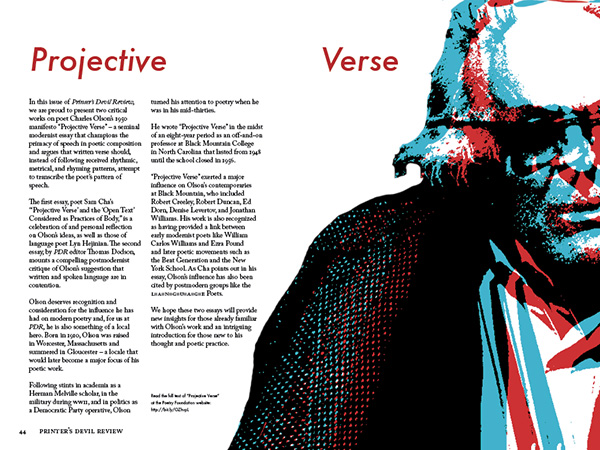 Projective Verse