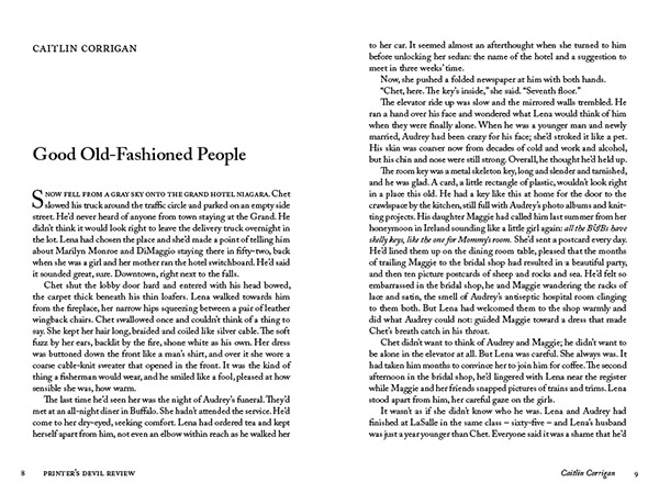 Good Old-Fashioned People by Caitlin Corrigan